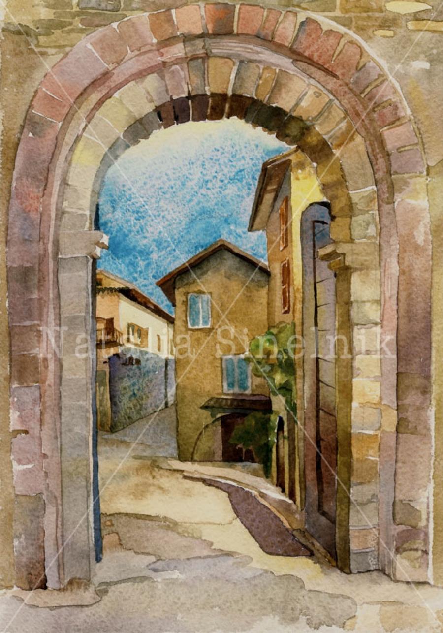 Ворота города Ассизи