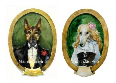 Wedding portraints