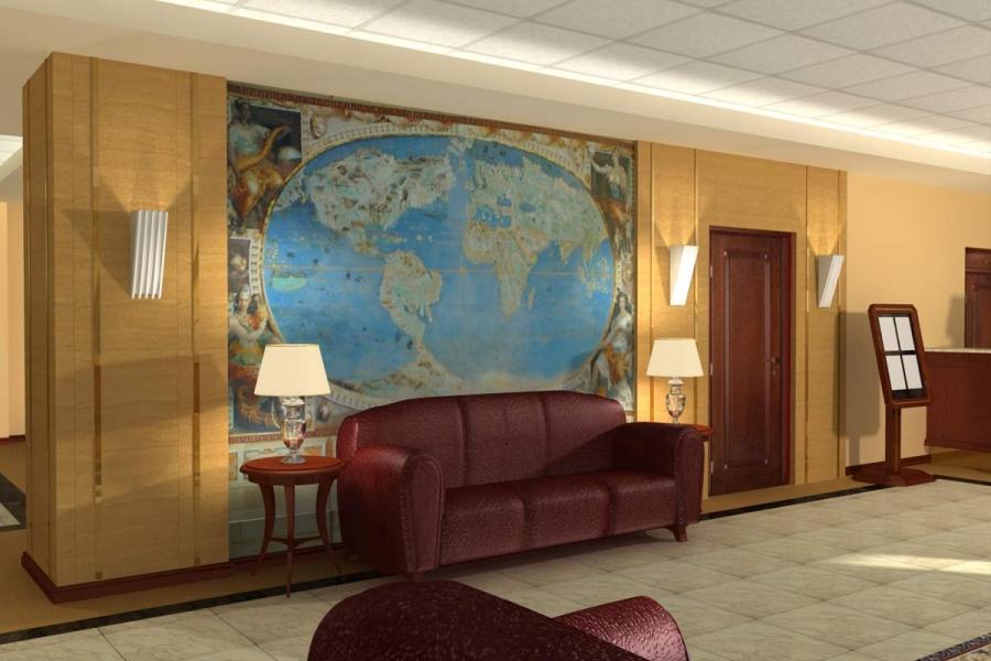 Вестибюль гостиницы Аэрополис, 2006