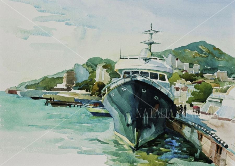 Яхта Шанталь