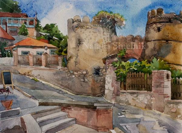 Старые ворота Сигнахи